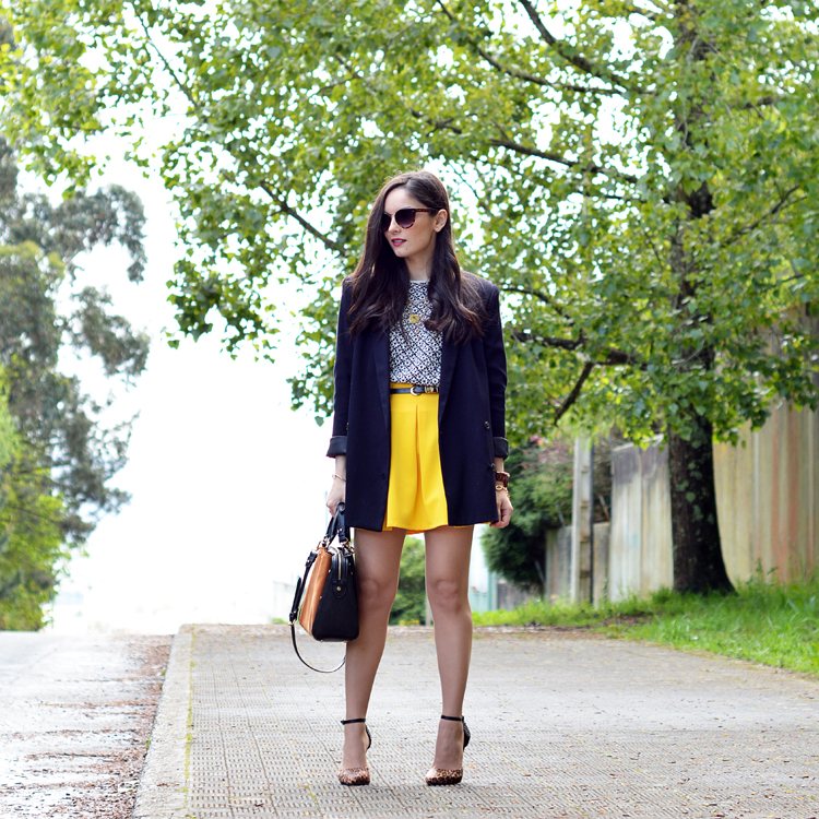 Zara_ootd_outfit_yellow_animal_print_blazer_04