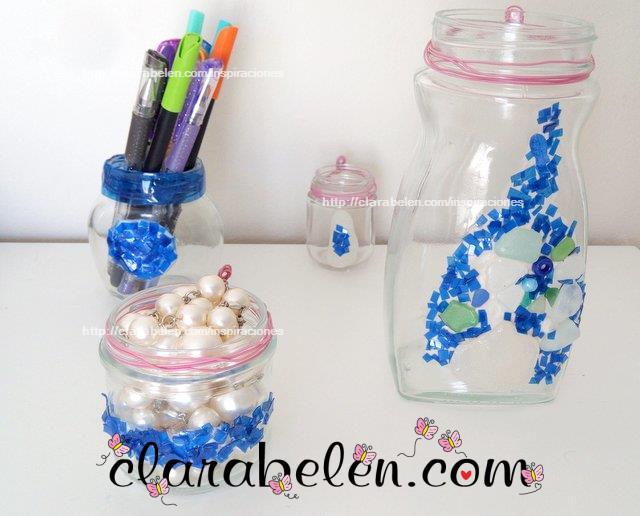 Inspiraciones manualidades y reciclaje c mo decorar - Como pintar botellas de plastico ...