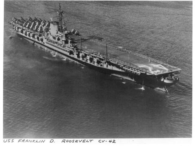 USS  Franklin Roosevelt CV-42