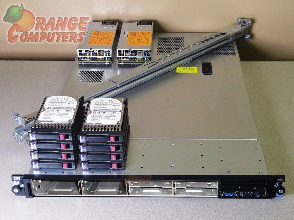 HP ProLiant DL360 G6 Server Dual Xeon L5640 6C 2 26GHz 144