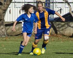 Thames Senior Girls Soccer, 2015