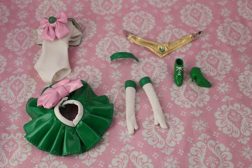 Sailor Jupiter stock outfit