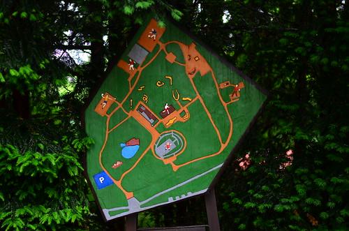 Eingang Tannenwald