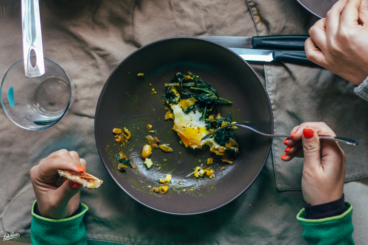 Narcissus, Persian Spinach and Eggs (Nargessi) | Narciso, Uova e Spinaci alla Persiana | Lab Noon