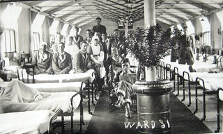 Ward 31, Harefield Hospital, England - WW1