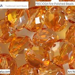 PRECIOSA Fire-Polished Beads - 151 19 001 - 00030/29121