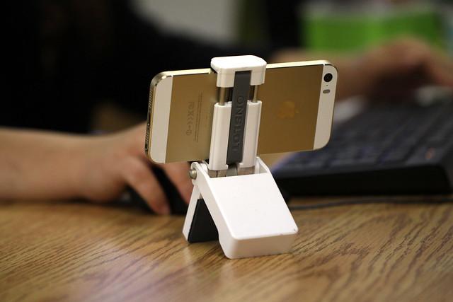 iPhone 5S and Flipmount