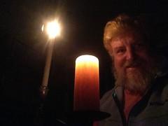 Earthhour 2015 candlelight self-portrait