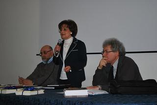 La presidente della LUTE di Rutigliano Marisa Damato