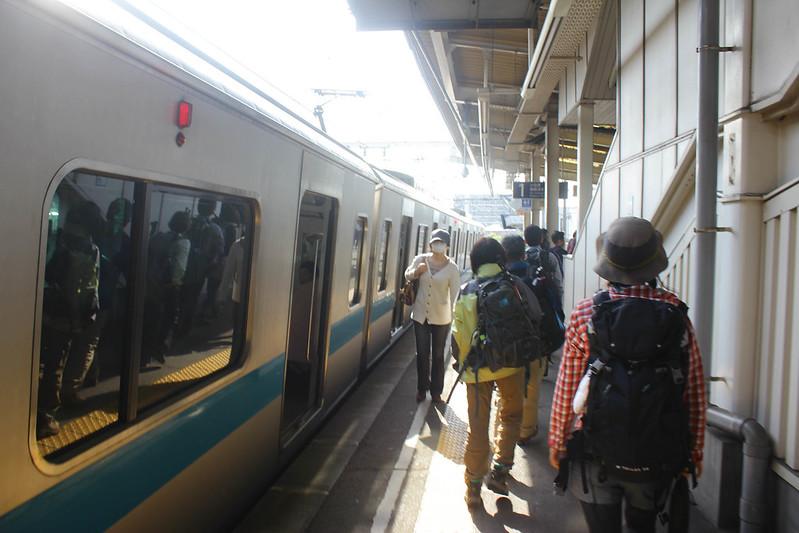 小田急線に乗る