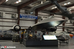 61-7951 - 2002 - USAF - Lockheed SR-71A Blackbird - Pima Air and Space Museum, Tucson, Arizona - 141226 - Steven Gray - IMG_9062