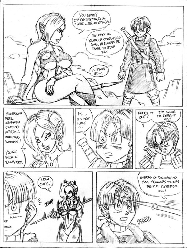 Dbz Porn Comic Book - New comic, Trunks and Towa. I'll be submitting it in chunks since it's  short. Plus it gives me enough time to distract you guys while I work on  finishing ...
