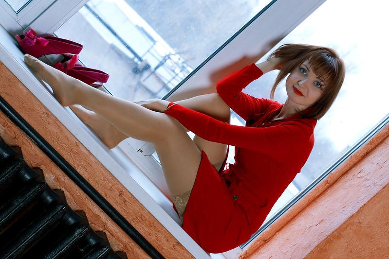 Alenka, red sign