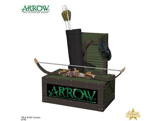 Icon Heroes【綠箭俠造型文具組】The Arrow