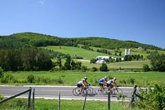 À  vélo à Warwick et sa campagne.
