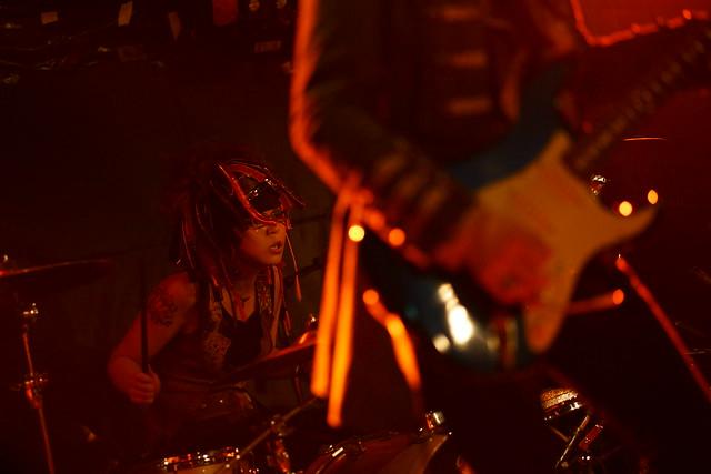 Coal Tar Moon live at Outbreak, Tokyo, 20 Apr 2015. 086