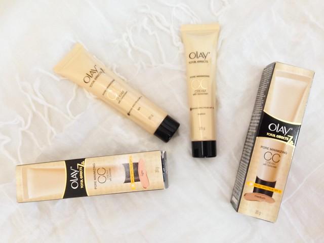 olay, olay total effects, cc cream, day cream, moisturizer, sample room, sampleroom, pore minimizing