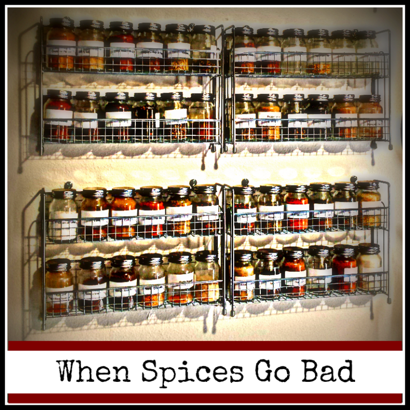 Life of Spice: When Spices Go Bad