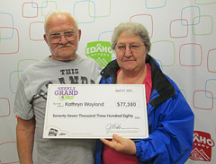 Kathryn Wayland - $77,380 Weekly Grand