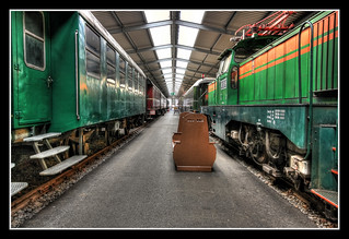 Bochum - Eisenbahnmuseum Dahlhausen Wagonhalle 02