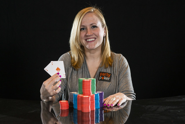 Party Poker US Team Pro Portraits