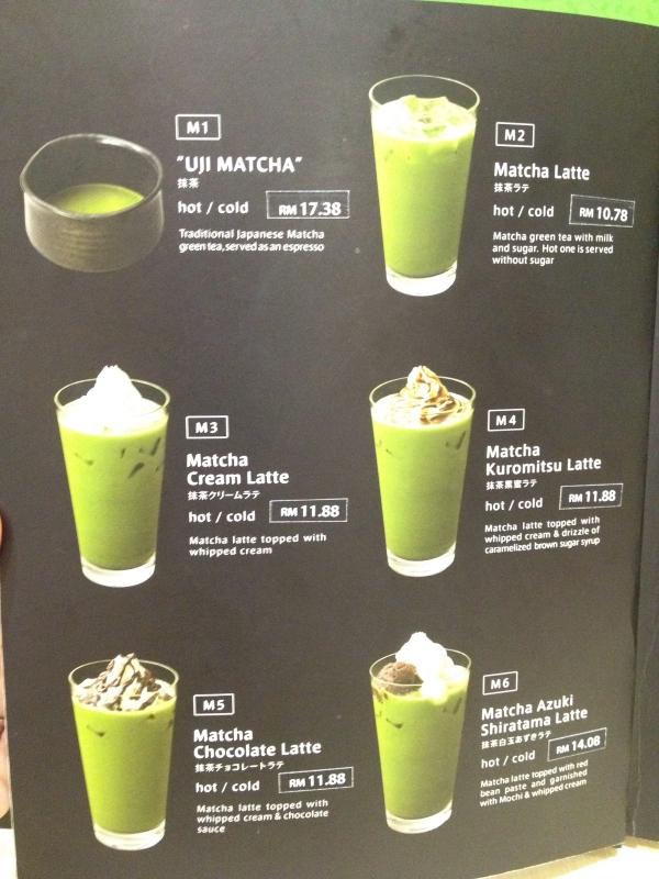 nanas-green-tea-one-utama-menu-4