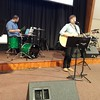 Love having Abby and Jeff as guest worship leaders today