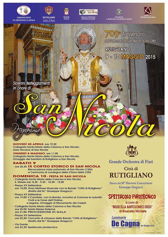 manifesto san nicola rutigliano 2015