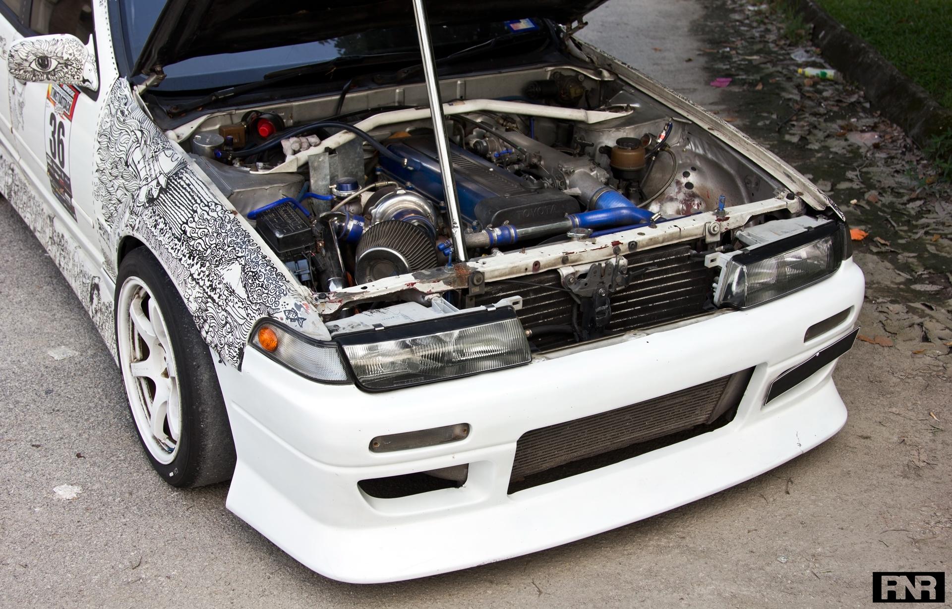 The Artsy Toyota Cefiro - RaceNotRice