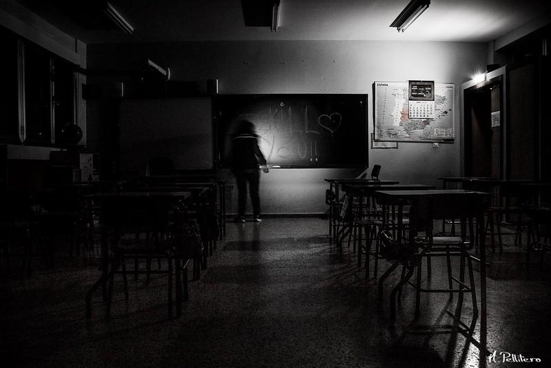 La niña del colegio