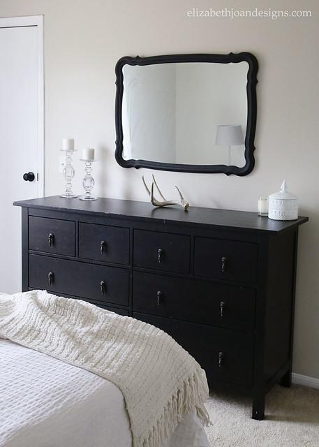 Ikea Hemnes Dresser Black