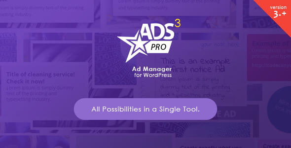 ADS PRO v3.3.2 - Multi-Purpose WordPress Ad Manager