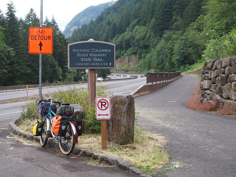 Historic Columbia River Highway State Trail: West End