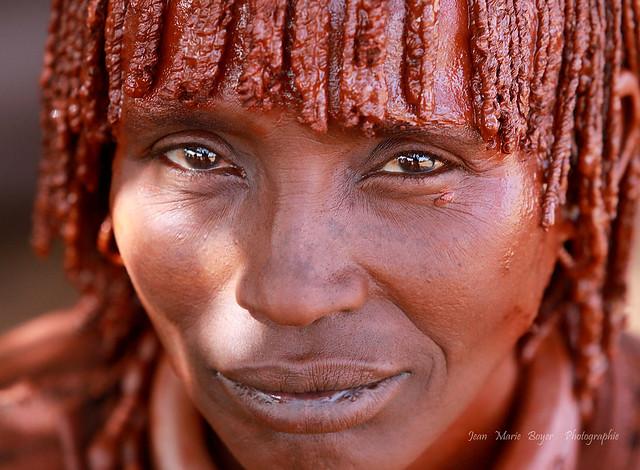 Femme Hamer Omo Vallée Ethiopie