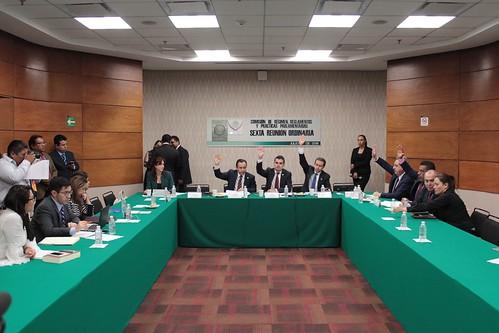 El día 6 de julio se llevó a cabo en la H. Cámara de Diputados la sexta reunión ordinaria de la Comisión de Régimen, Reglamentos y Prácticas Parlamentarias.