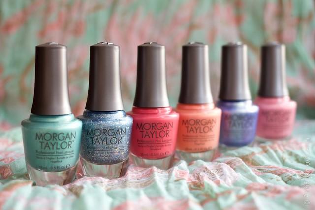 Morgan Taylor Cinderella Collection Spring 2015 swatches