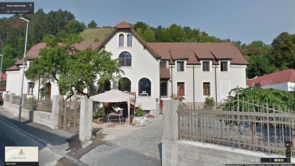 Casa parohială, preot Aurelian Reit din Brașov