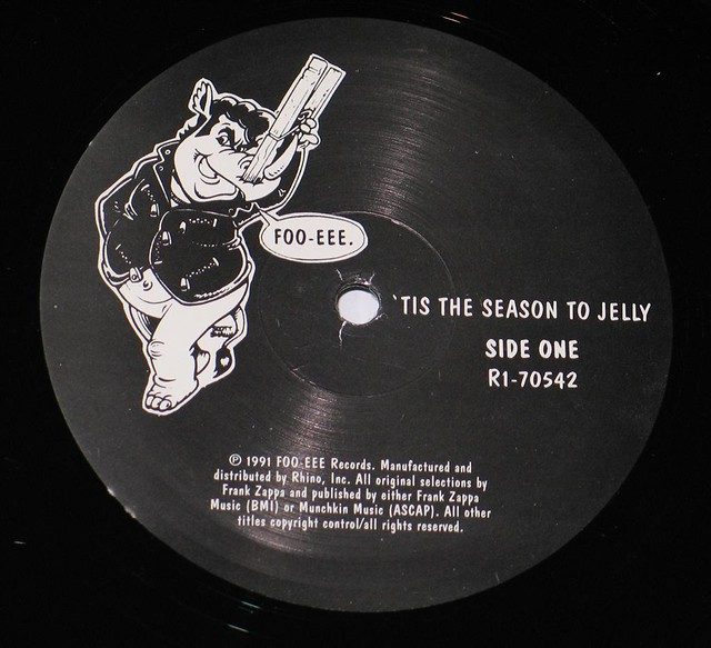 "FRANK ZAPPA 'TIS THE SEASON TO BE JELLY 12"" Vinyl LP"