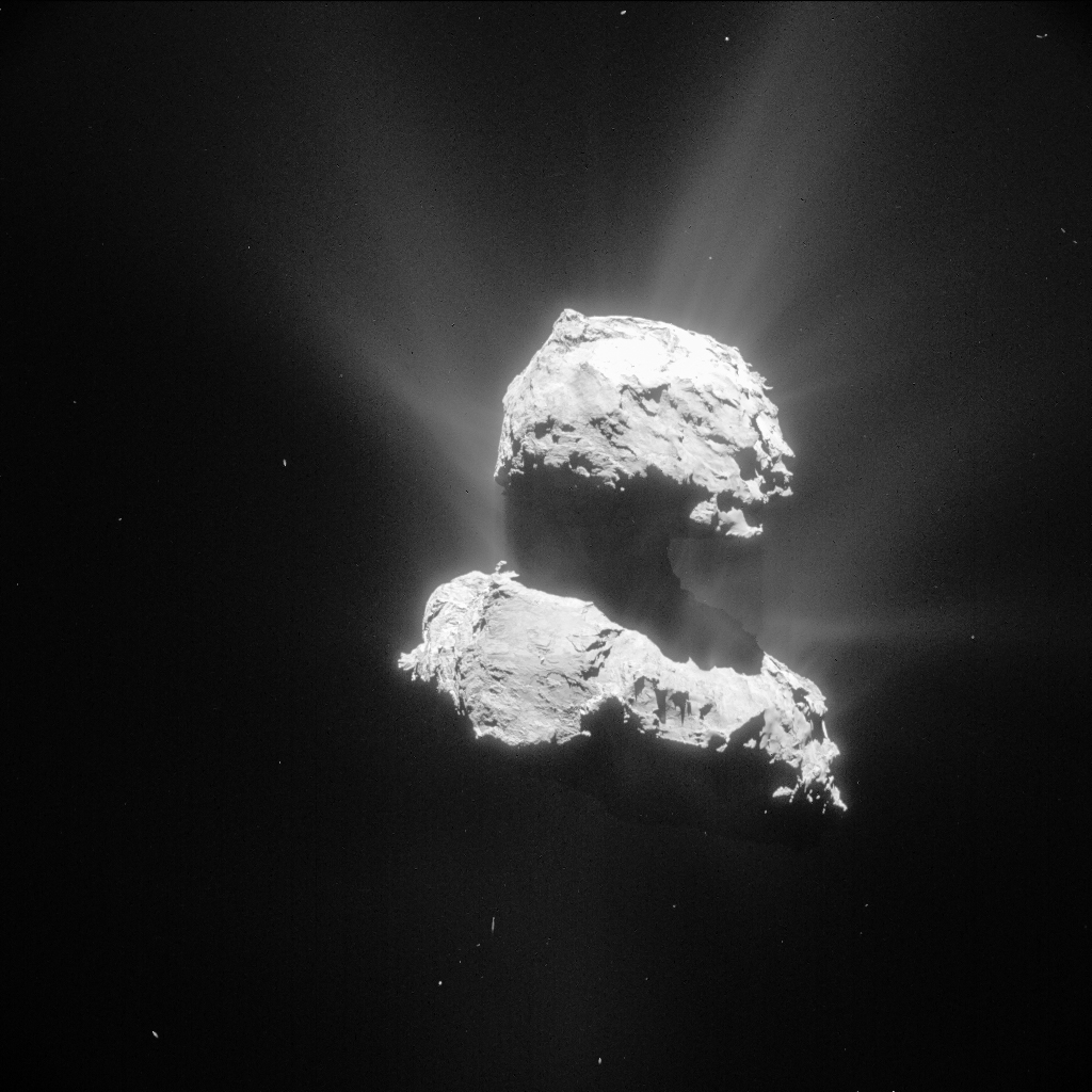 Comet 67P on 26 April 2015 – NavCam