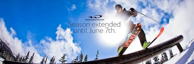 Whistler season extension