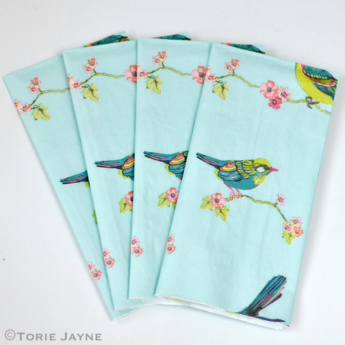Bird napkins