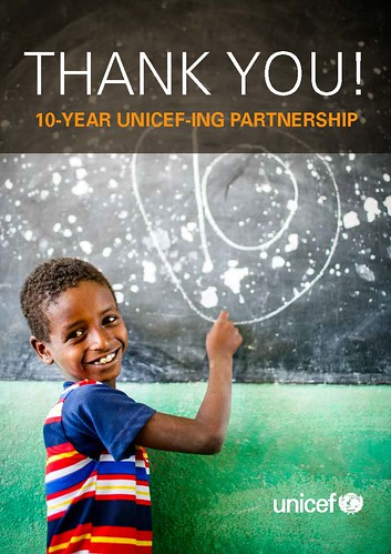 10 YEAR UNICEF – ING PARTNERSHIP