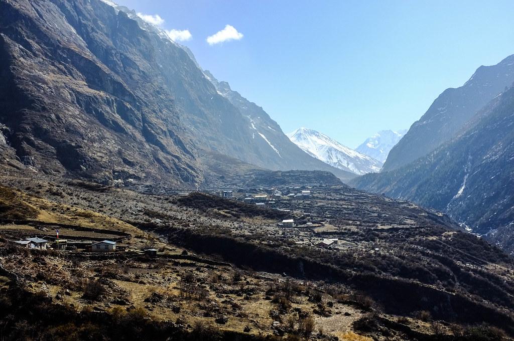 Langtang Village, Langtang Valley Trek, Nepal