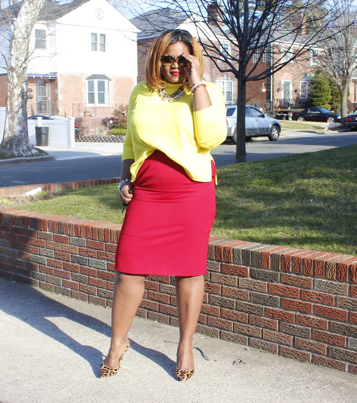 yellow+and+red+fashion+combo