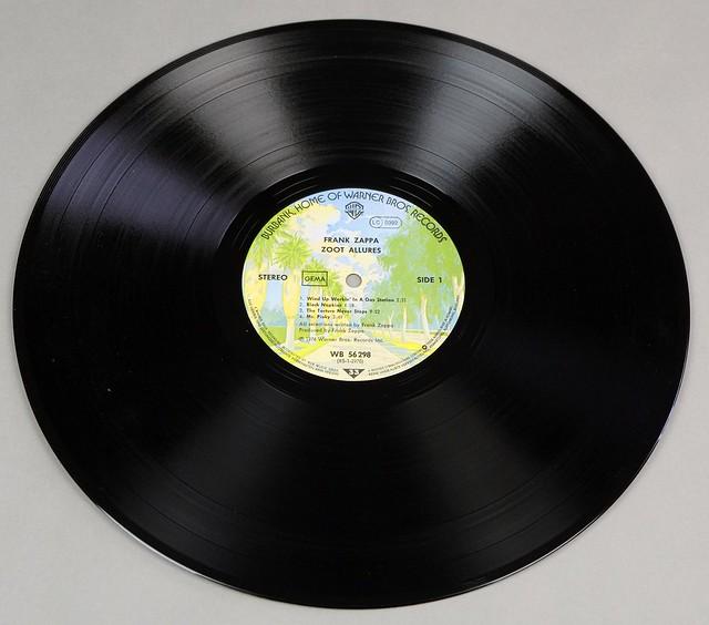 "FRANK ZAPPA ZOOT ALLURES GERMANY 1976 12"" LP VINYL"