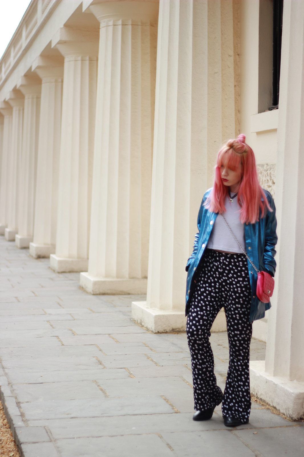 4-flare trousers