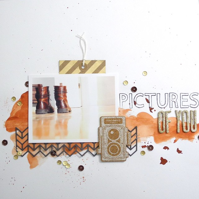 Pictures of You by Jennifer Ingle @Bazzillbasics @Jennifer Ingle #bazzillbasics #scrapbooking