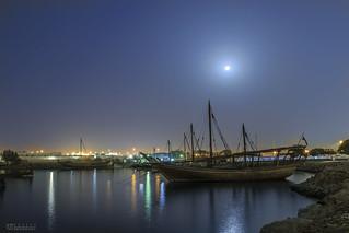Moonlight Over Doha