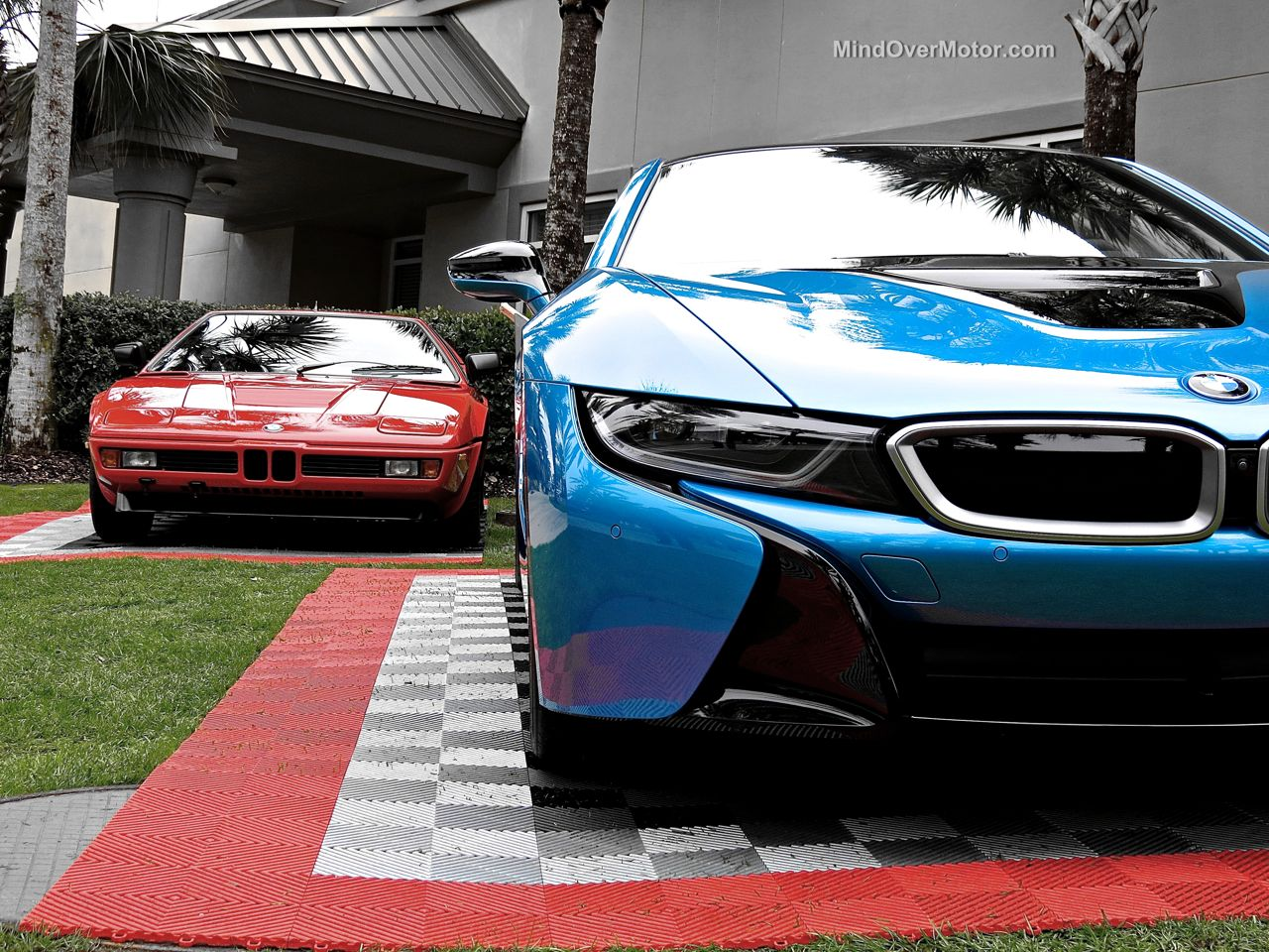 BMW i8 Amelia Island 2