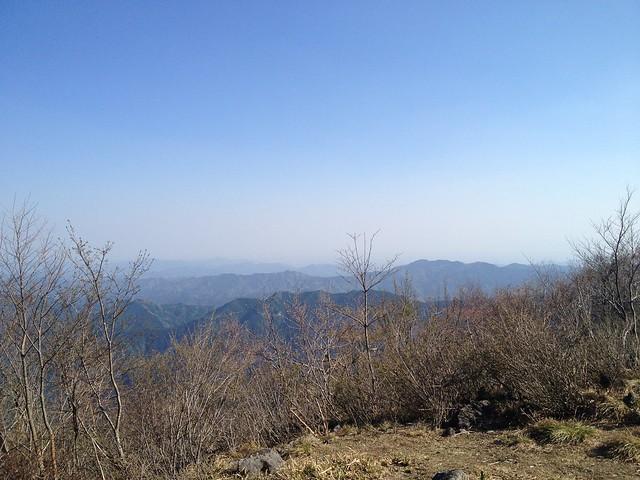 舟伏山 山頂からの眺望